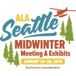 ALA Seattle Midwinter Meeting & Exhibits, January 25th to 29th, 2019.