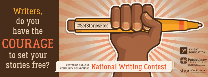 Writers, do you have the courage to set your stories free?