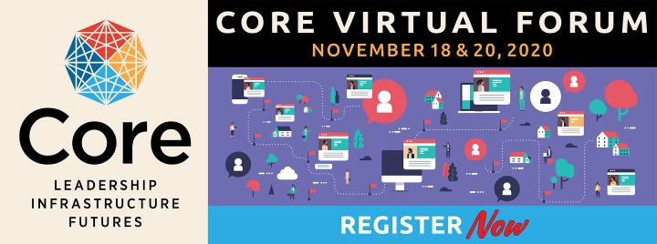 Register now for the library conference for professionals, Core Virtual Forum November 18 & 20, 2020