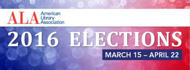 ALA 2016 elections are here; learn about the candidates now!