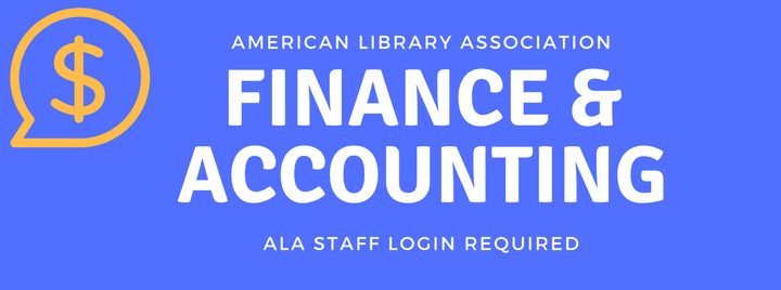 ALA Finance & Accounting- ALA staff login required