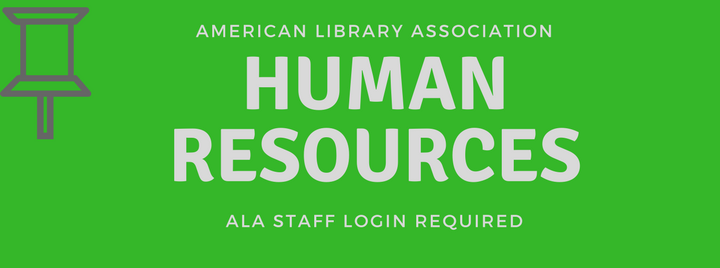 ALA Human Resources Staff Login Required