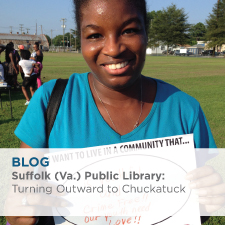 Blog: Suffolk (Va.) Public Library: Turning Outward to Chuckatuck