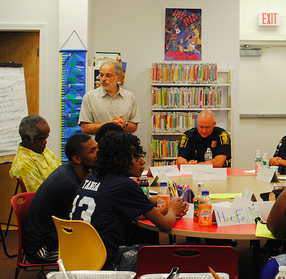 A community conversation led by Hartford Public Library