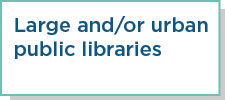 Large and/or urban public libraries