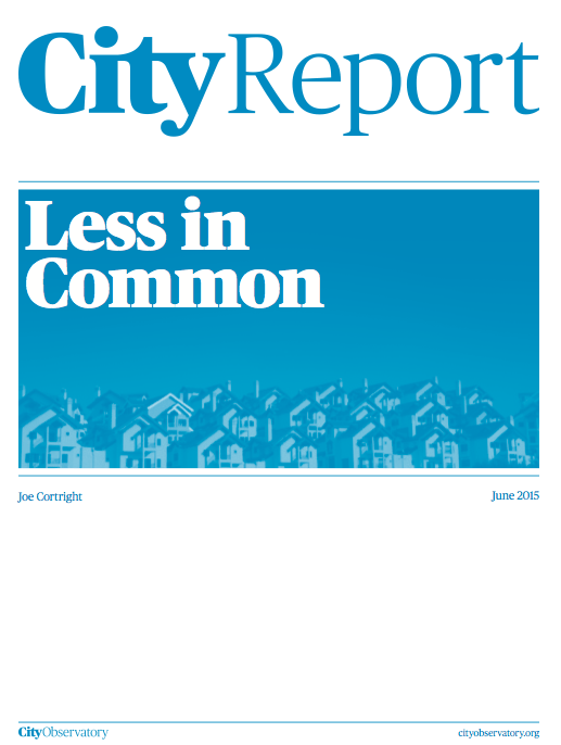 "City Observatory's ""Less in Common"""