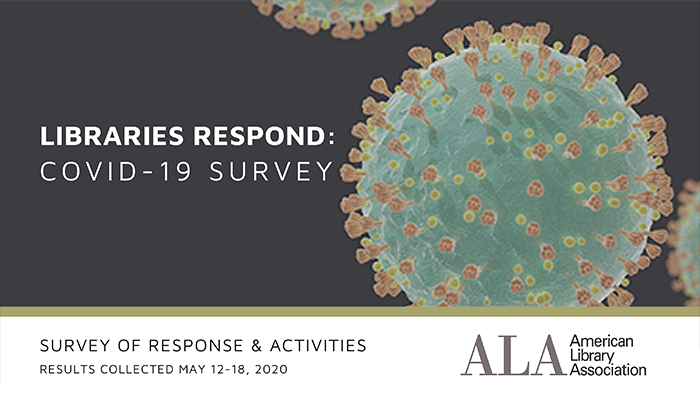 Libraries Respond COVID-19 Survey of Response and Activities, results collected May 12-18, 2019