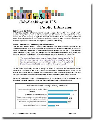 Five Ways to Use Public Library Funding & Technology Access Study ...