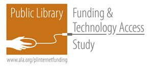 public library funding and technology access study logo