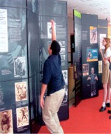 frankenstein traveling exhibit @ houston public library