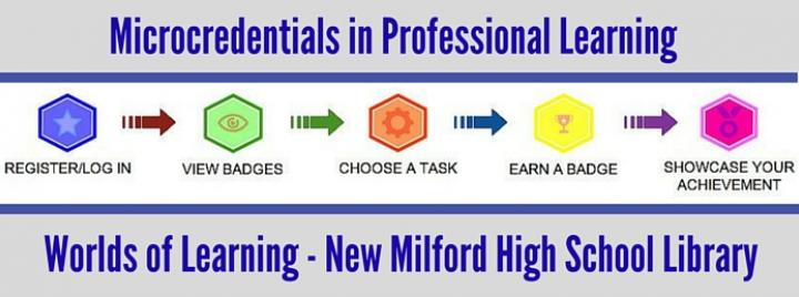 Microcredentials in Professional Learning - Worlds of Learning - New Milford High School Library