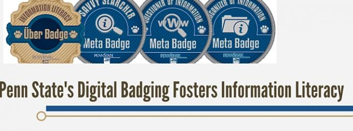 Penn State's Digital Badging Fosters Information Literacy