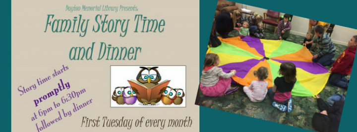 Family Story Time and Dinner at Dayton Memorial Library