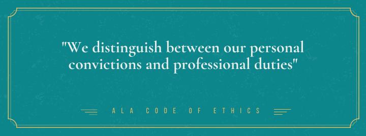 ALA Code of Ethics