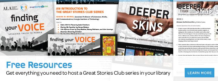 Free resources: Get everything you need to host a Great Stories Club series in your library