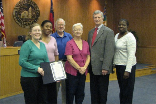 friends of fayette county public library proclamation