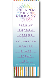 friend your library poster