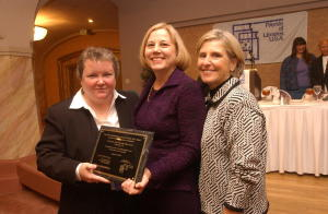 virginia stanley congratulates friends of the colleyville (tx) public library