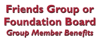 Click for Friends group member benefits.