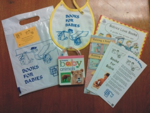 books for babies kit contents