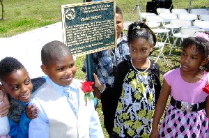 Stark Young Literary Landmark dedication