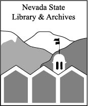 Nevada State Library & Archives Logo