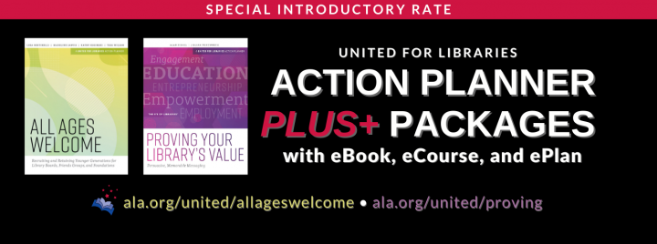 NEW Action Planner PLUS+ packages for your Board, Friends, or Foundation!
