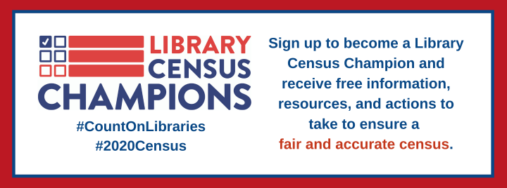 Become a Library Census Champion