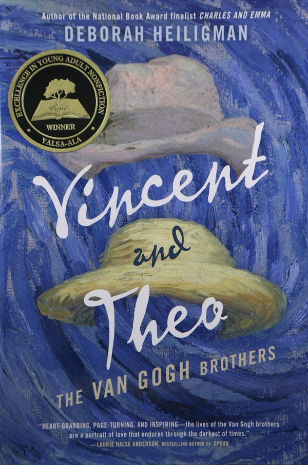Navajo county library district holbrook arizona vincent and theo the van gogh brothers written by deborah heiligman and published by godwin bookshenry holt an imprint of macmillan childrens publishing fandeluxe Choice Image