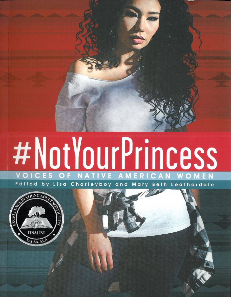 cover of #not your princess