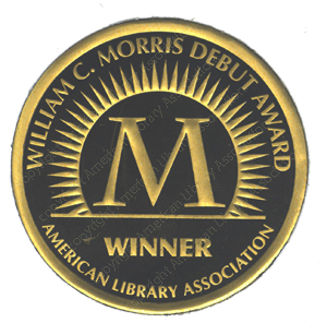 image of William C. Morris Debut Award winner seal