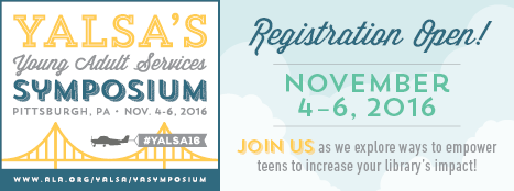 YA Services Symposium Registration Open