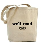 well read tote bag at cafepress.com/yalsa
