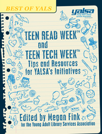 teen read week and teen tech week