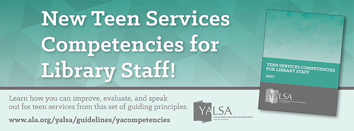 New Teen Services Competencies for Library Staff